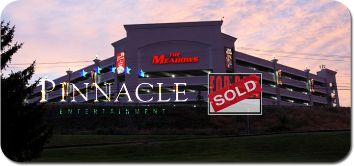 Pinnacle Entertainment to buy The Meadows Racetrack and Casino