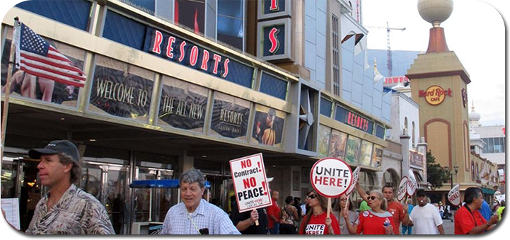 Atlantic city casino workers to go on strike