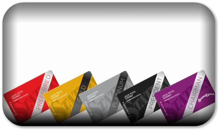 Station Casino's loyalty cards