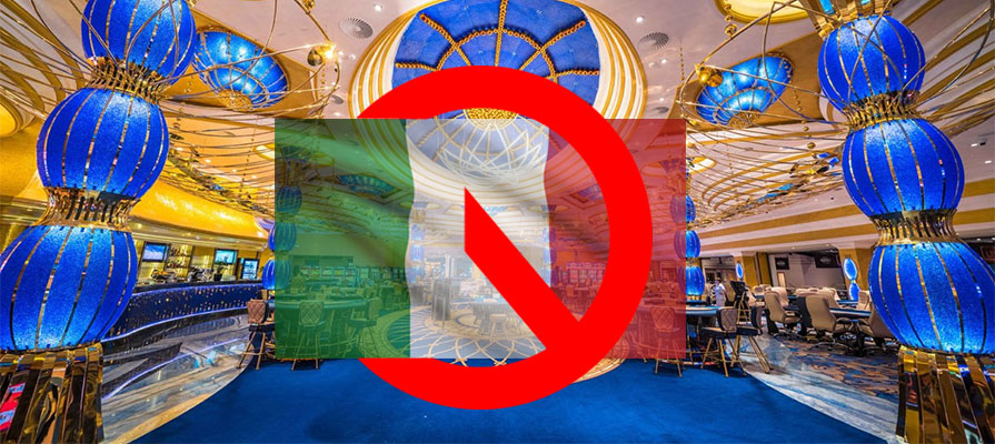 Kings Casino bans Italians during Coronavirus pandemic