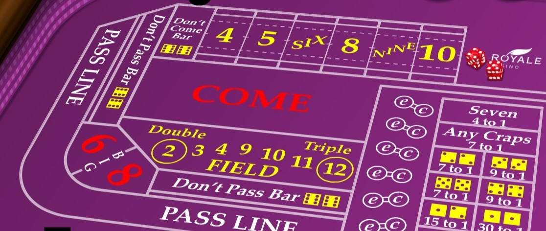 Real Money Craps at El Royale Casino