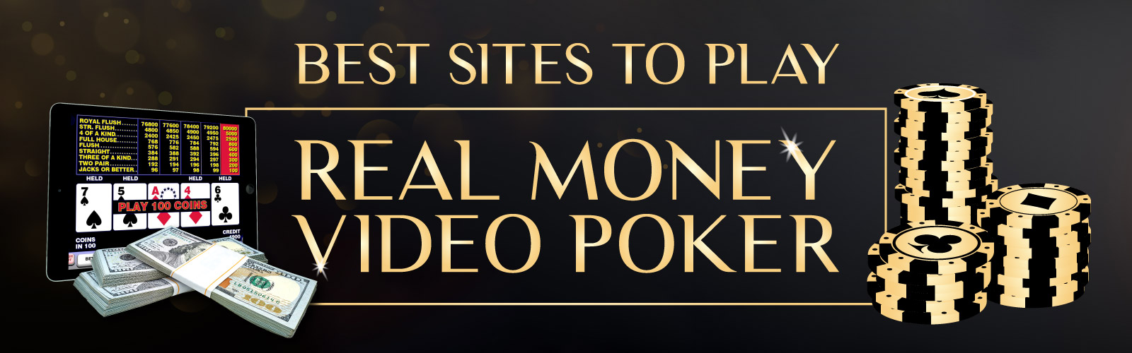 Best Sites to Play Online Video Poker for Real Money
