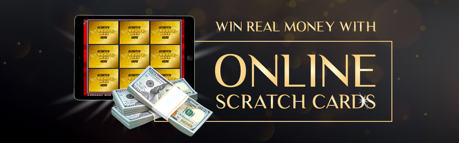 Win Real Money With Online Scratch Cards