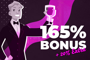 165% bonus + 20% extra at El Royale Casino
