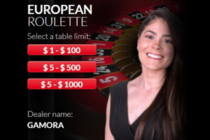 European Roulette At Red Dog Casino
