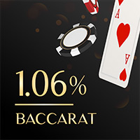 Baccarat Low Casino House Edge