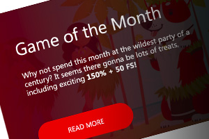 Game of the month at Red Dog Casino