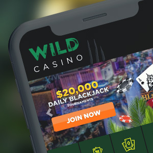Wild Casino on your mobile