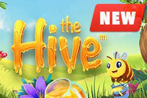 The Hive slot game at BetOnline