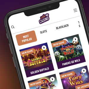 Play at Cafe Casino on your mobile device