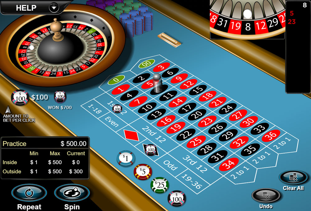 Online American Roulette Game