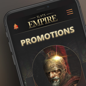 Slots Empire on your mobile device