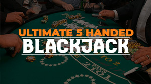 Ultimate 5 Handed Blackjack at MyBookie
