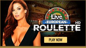 Live European Roulette at MyBookie