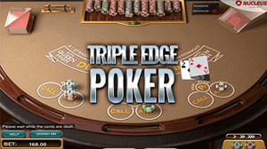 Triple edge poker at MyBookie