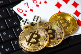 Gambling with bitcoin online