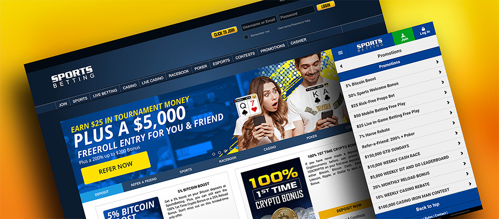 Sportsbetting.ag Bonuses and Promotions