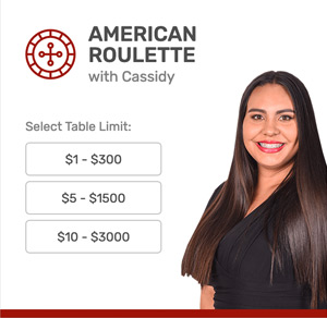 American Roulette at Bovada