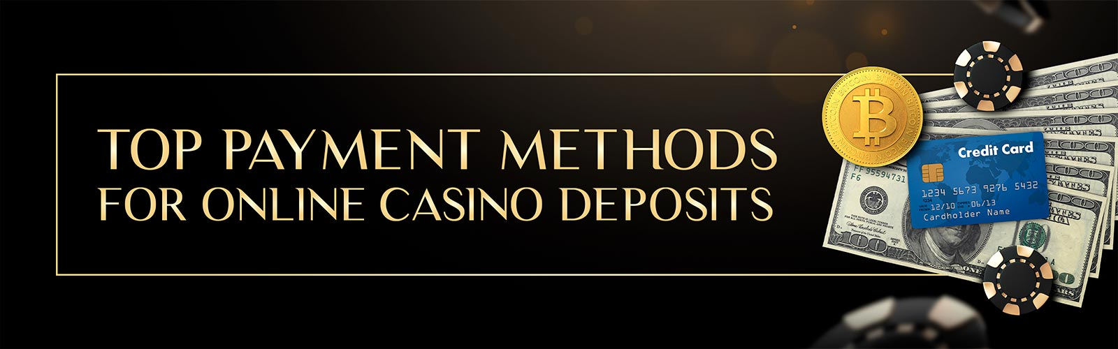 Popular payment methods for online casino deposits